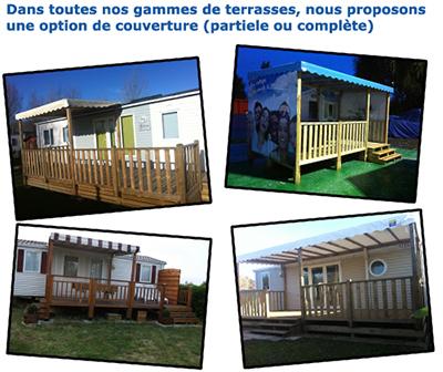 Les Terrasses De L Europe Terrasses Mobil Home Camping